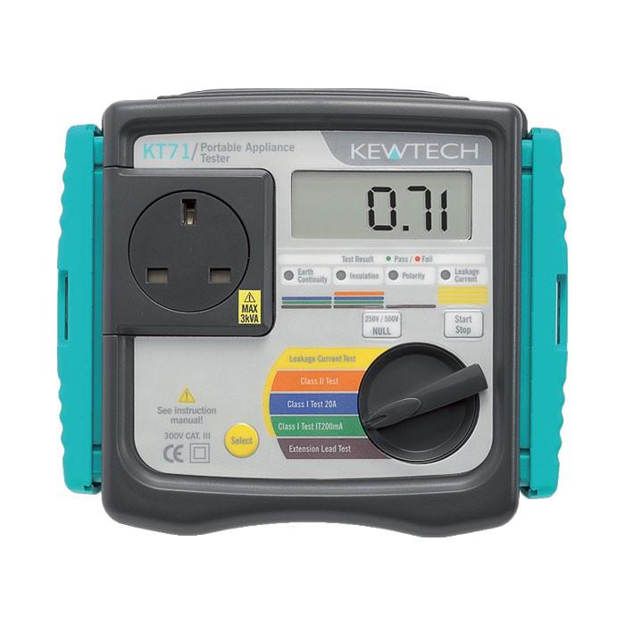 Kewtech KT71 PAT Tester