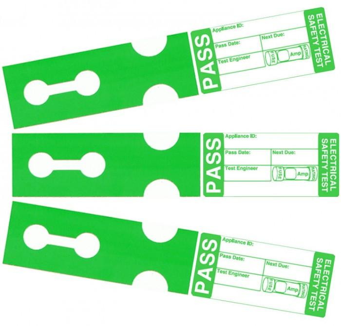 Tuff Tag Pass Cable Labels (x250)