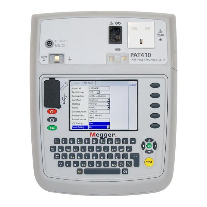 Megger PAT410 PAT Tester