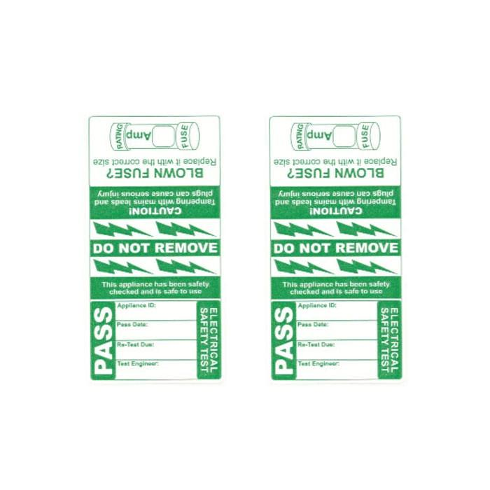 Pass Wrap Cable Labels (x250)