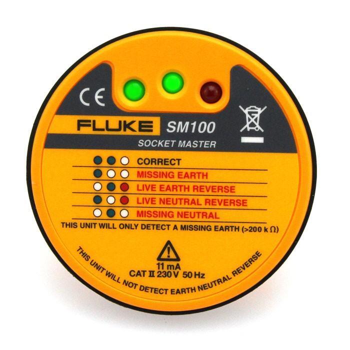 Fluke SM100 SocketMaster Socket Tester