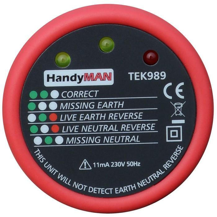 HandyMAN TEK989 Socket Tester