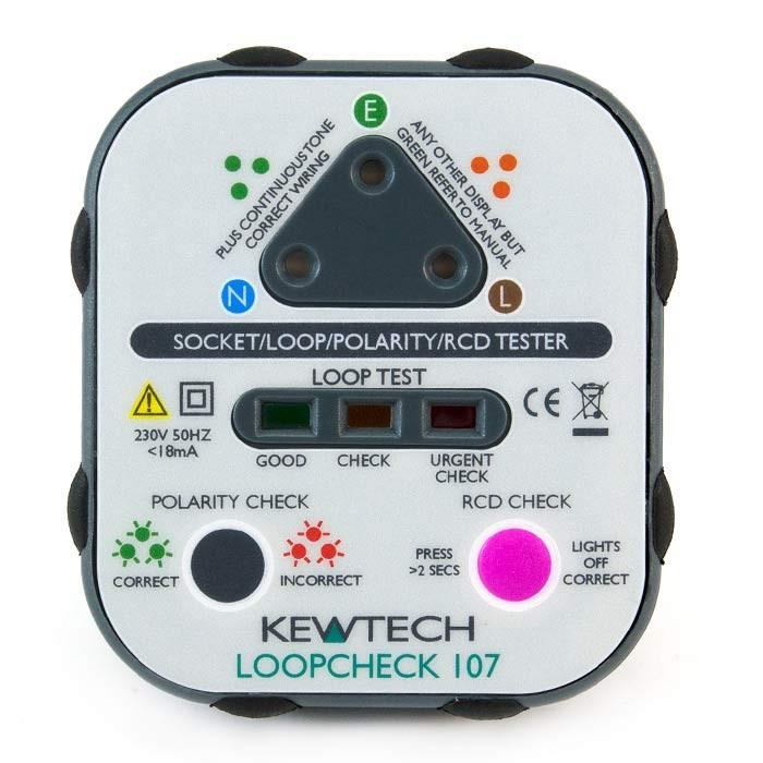 Kewtech Loopcheck 107 Socket Tester