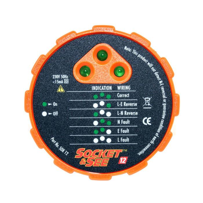 Socket & See SOK12 Socket Tester