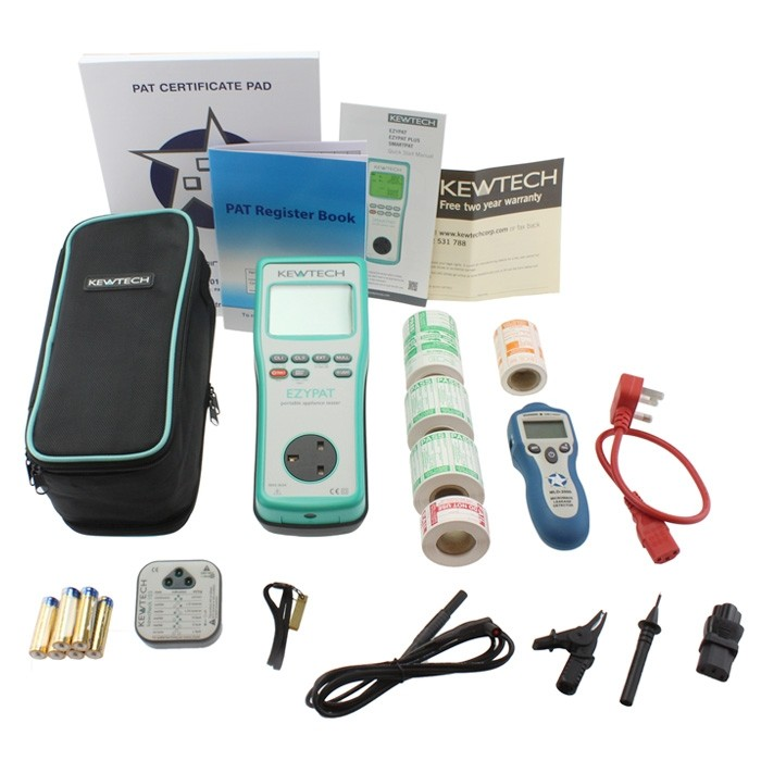 Kewtech EZYPAT Kits (Choice of Kits)