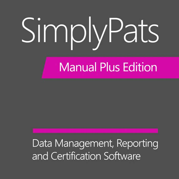 SimplyPATs V7 Manual Plus Software
