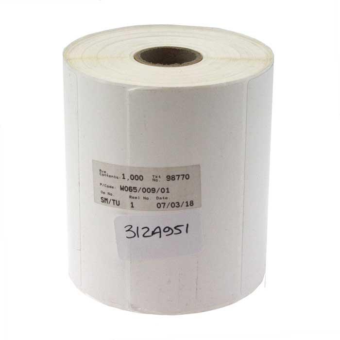 Seaward 312A951 Desk Test n Tag Printer Labels