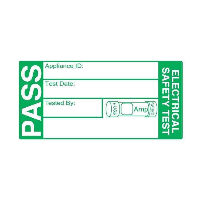 4th/5th Edition Pass Labels (Roll of 500)